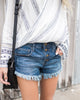 Cheeky Fringe Shorts