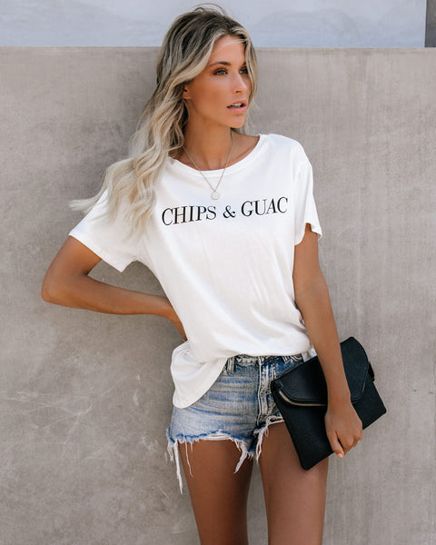 Chips + Guac Cotton Tee