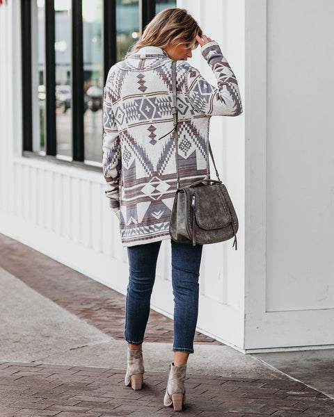Chiyo Cotton Blend Pocketed Cardigan - FINAL SALE