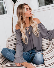 Classic Tale Blouse - Medium Grey view 1