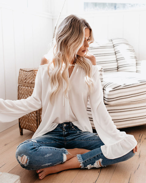 Classic Tale Blouse - White