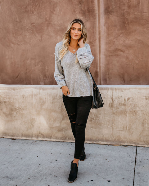Cold As Ice Knit Sweater