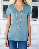 MEGHAN BO DESIGNS - Pave Buddha Necklace - Mint