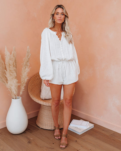 Comfort In The Clouds Cotton Romper
