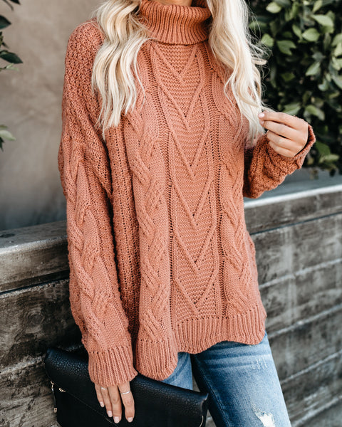 Copenhagen Knit Turtleneck Sweater