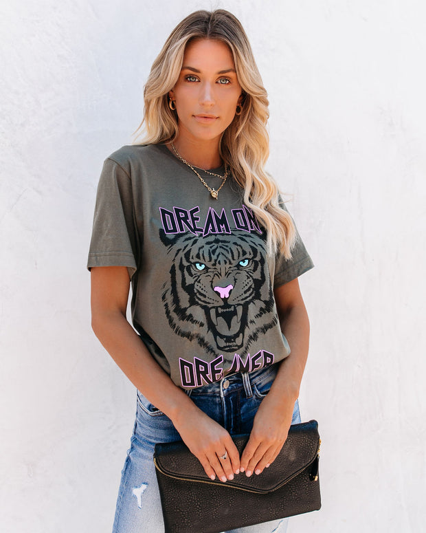 Cotton Dream On Dreamer Tiger Tee - FINAL SALE
