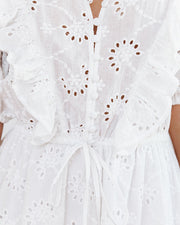 Country Mile Cotton Button Down Eyelet Dress view 4