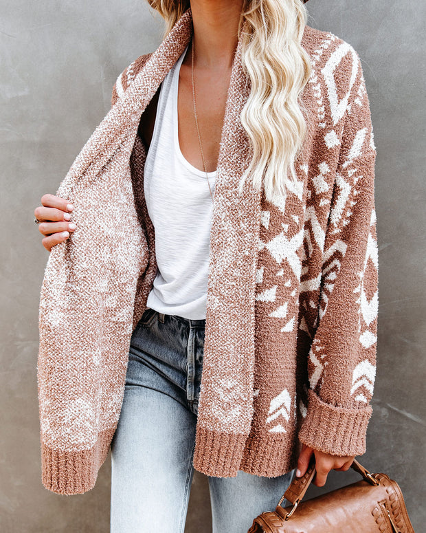 Coyote Hills Soft Knit Cardigan - Camel