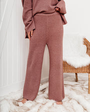 Crack Of Dawn Cotton Blend Wide Leg Pants - Mocha - FINAL SALE view 6