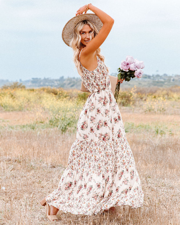 Crave Her Love Floral Maxi Dress view 8