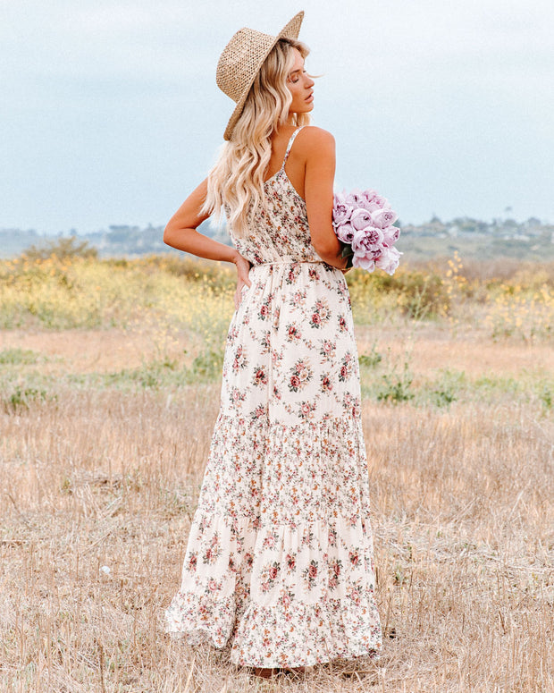 Crave Her Love Floral Maxi Dress view 2