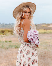 Crave Her Love Floral Maxi Dress view 9