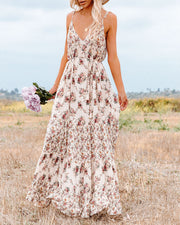 Crave Her Love Floral Maxi Dress view 6
