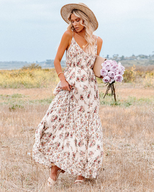 Crave Her Love Floral Maxi Dress view 7
