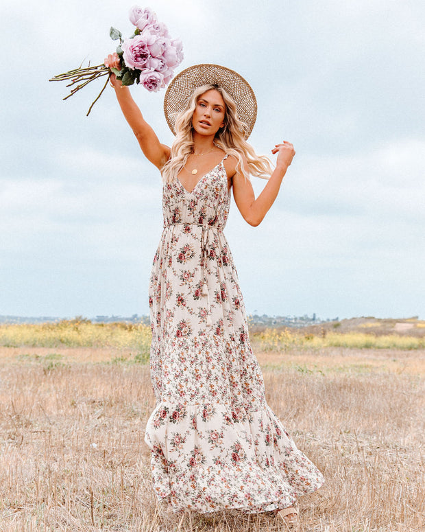 Crave Her Love Floral Maxi Dress view 10