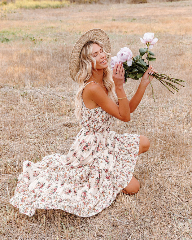 Crave Her Love Floral Maxi Dress view 5