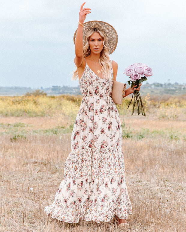 Crave Her Love Floral Maxi Dress view 1