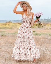 Crave Her Love Floral Maxi Dress view 3