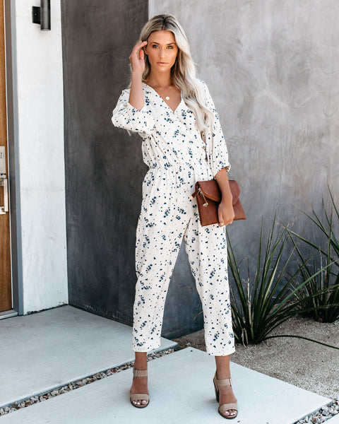 Cream + Sugar Pocketed Jumpsuit - FINAL SALE