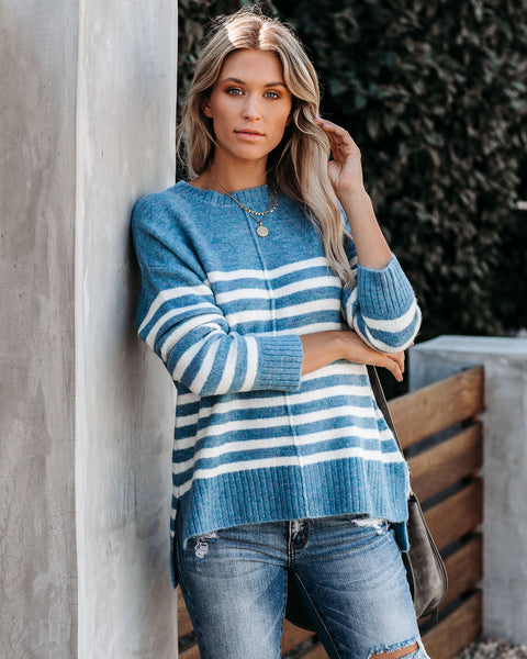 Danny Striped Knit Sweater  - FINAL SALE