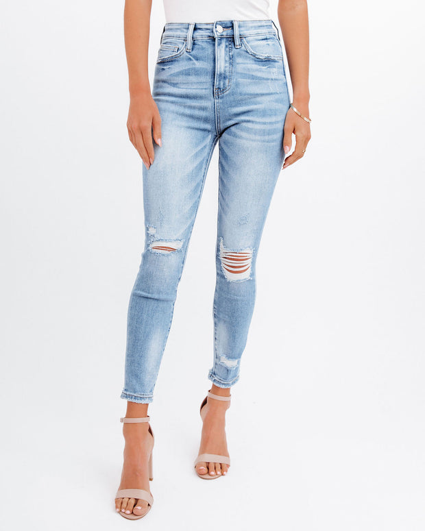 Demand High Rise Distressed Skinny view 1