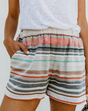 Desert Dunes Pocketed Shorts