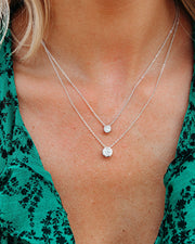 Diamonds In The Sky Layered Necklace