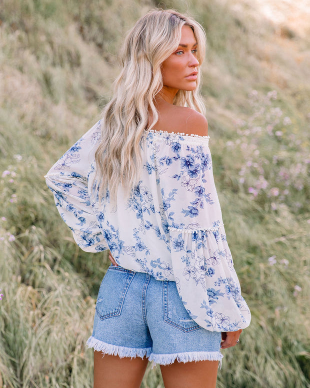Discovery Floral Off The Shoulder Blouse view 2