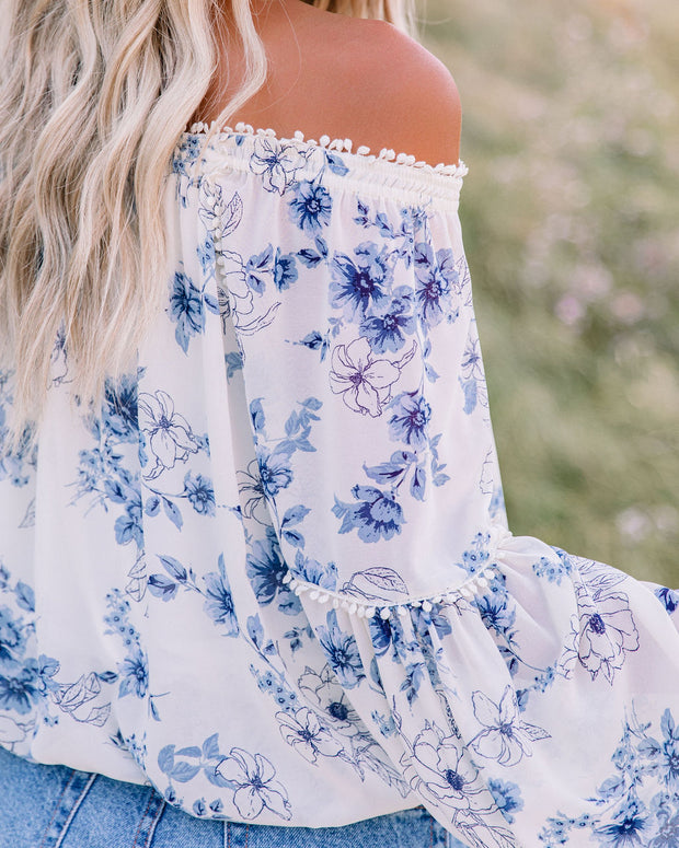 Discovery Floral Off The Shoulder Blouse view 4