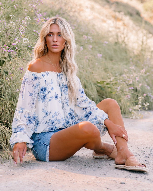 Discovery Floral Off The Shoulder Blouse view 8
