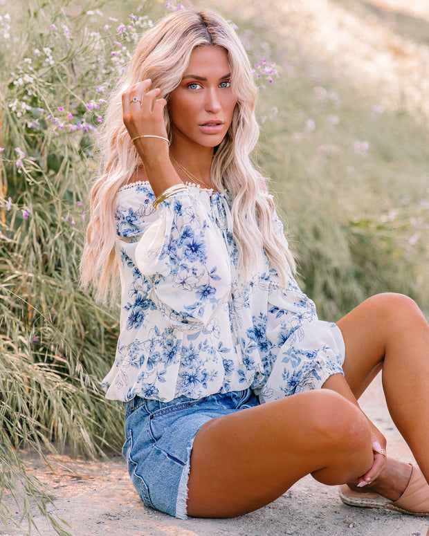 Discovery Floral Off The Shoulder Blouse view 9