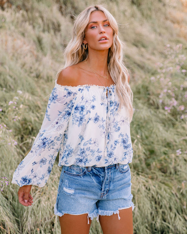 Discovery Floral Off The Shoulder Blouse view 6