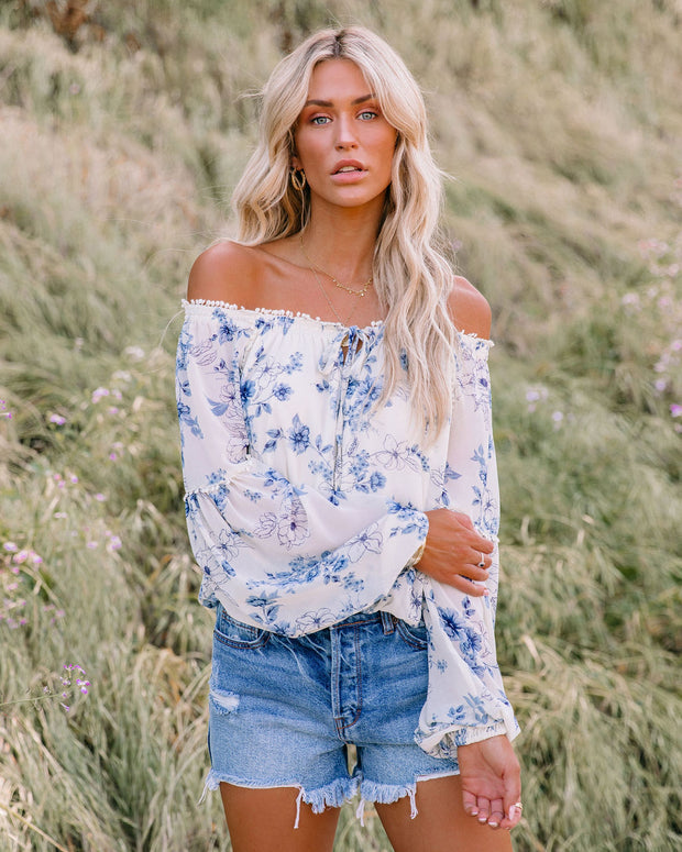 Discovery Floral Off The Shoulder Blouse view 1