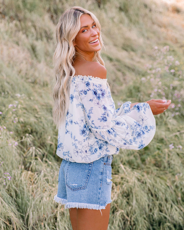 Discovery Floral Off The Shoulder Blouse view 5