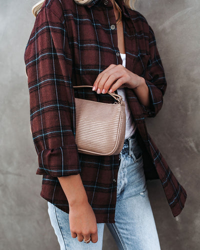 Dominique Crossbody Handbag - Natural