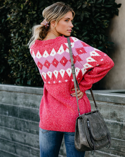 Dream By The Fire Knit Sweater - FINAL SALE