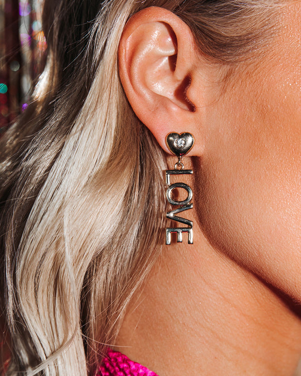 Drop Everything For Love Earrings