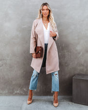 Eastchester Pocketed Coat - Tan view 5