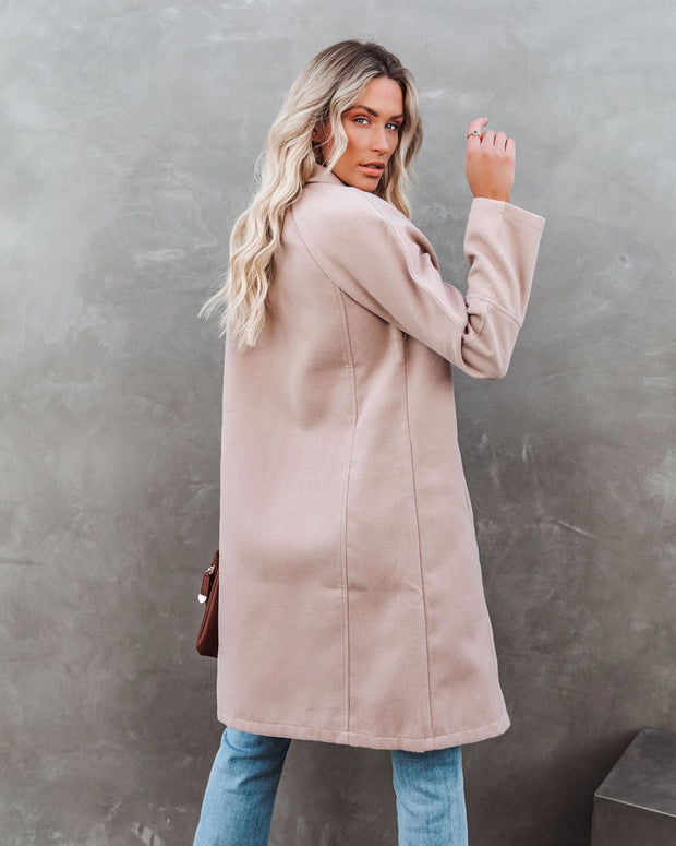 Eastchester Pocketed Coat - Tan view 2