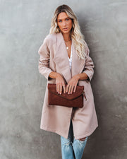 Eastchester Pocketed Coat - Tan view 8