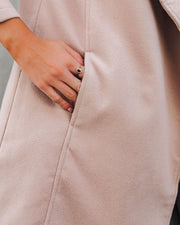 Eastchester Pocketed Coat - Tan view 4