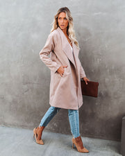 Eastchester Pocketed Coat - Tan view 1