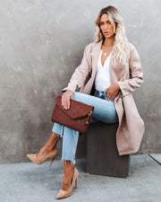 Eastchester Pocketed Coat - Tan view 6