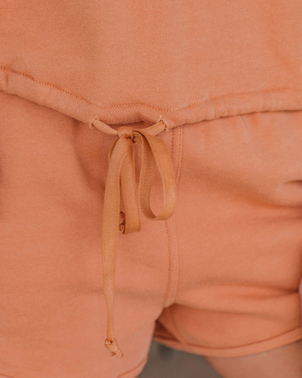 Easygoing Cotton Drawstring Sweatshirt - FINAL SALE view 4