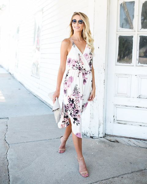Easy On The Eyes Floral Dress