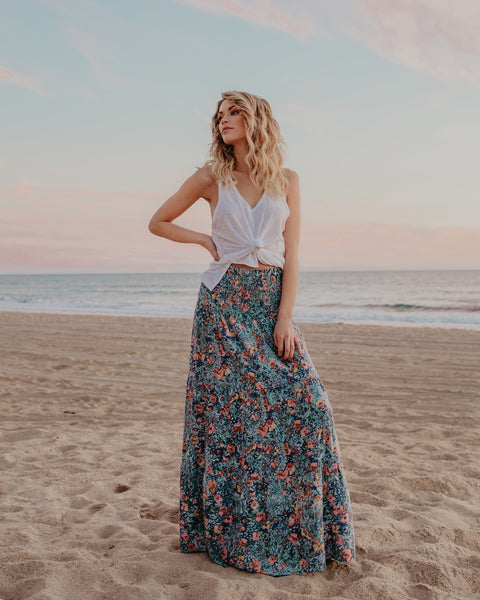 Fresh As A Daisy Maxi Skirt