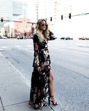 Elderflower Empire Maxi Dress