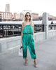 Midnight Hour Jumpsuit - Green