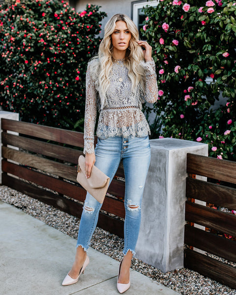 Enlightened Lace Top