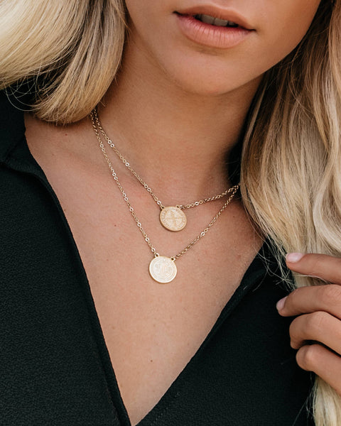 PREORDER - Erth Gold Layered Pendant Necklace
